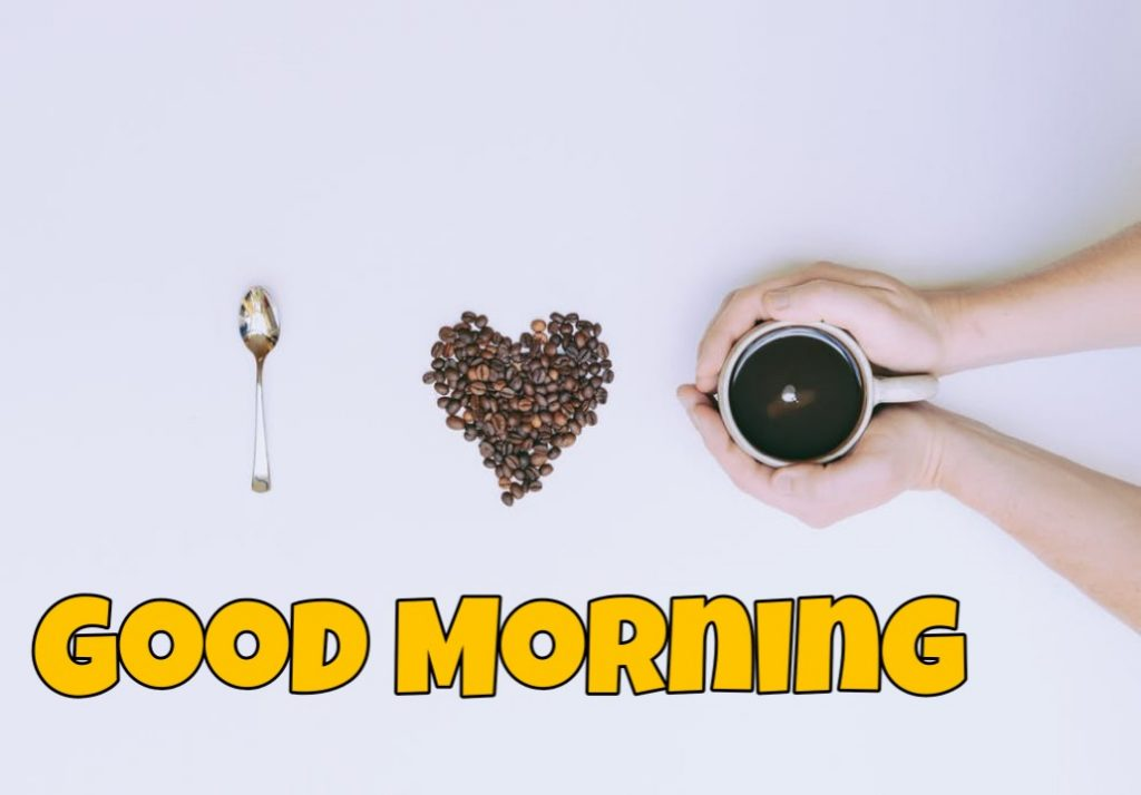 good morning coffee animated