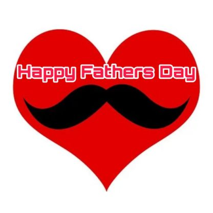 happy fathers day images heart