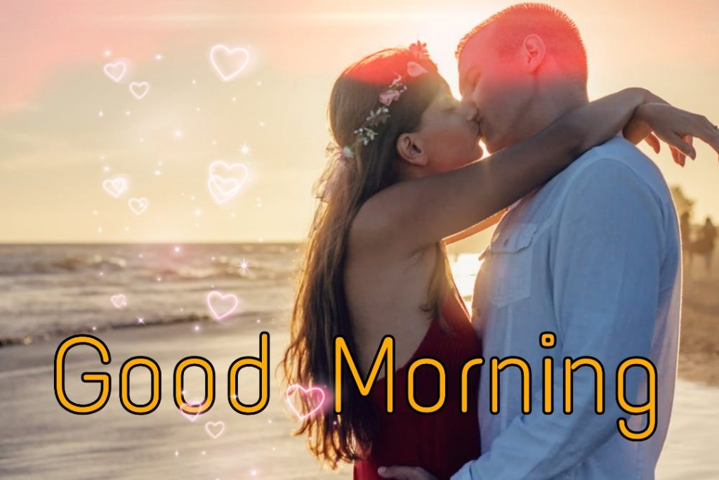 good morning kiss images for her