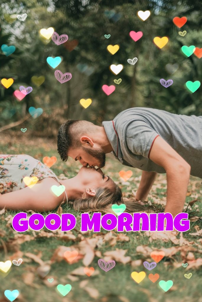 good morning kiss to wife